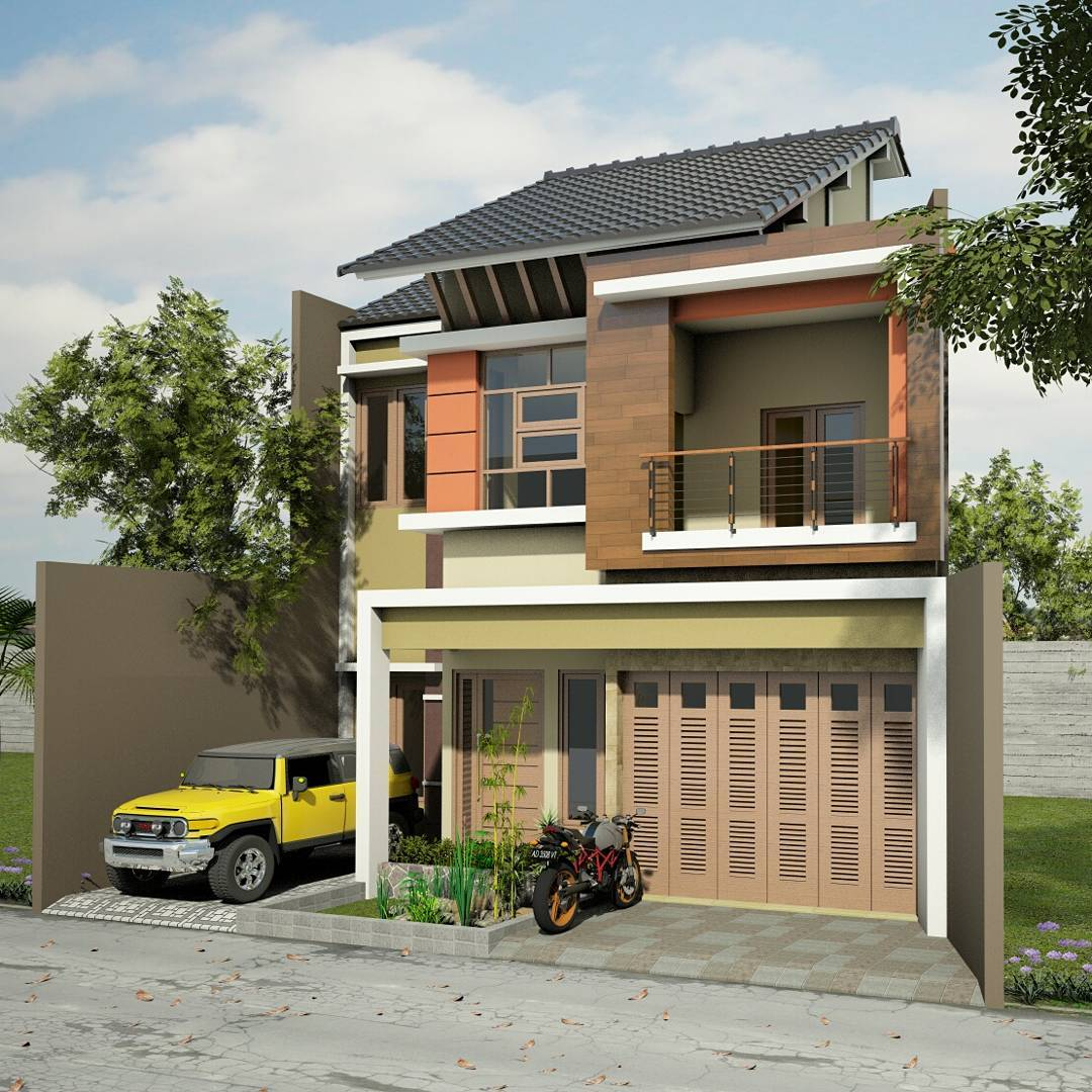 Model Rumah Minimalis 2 Lantai Tampak Depan Archives Make Your Dreams Come True
