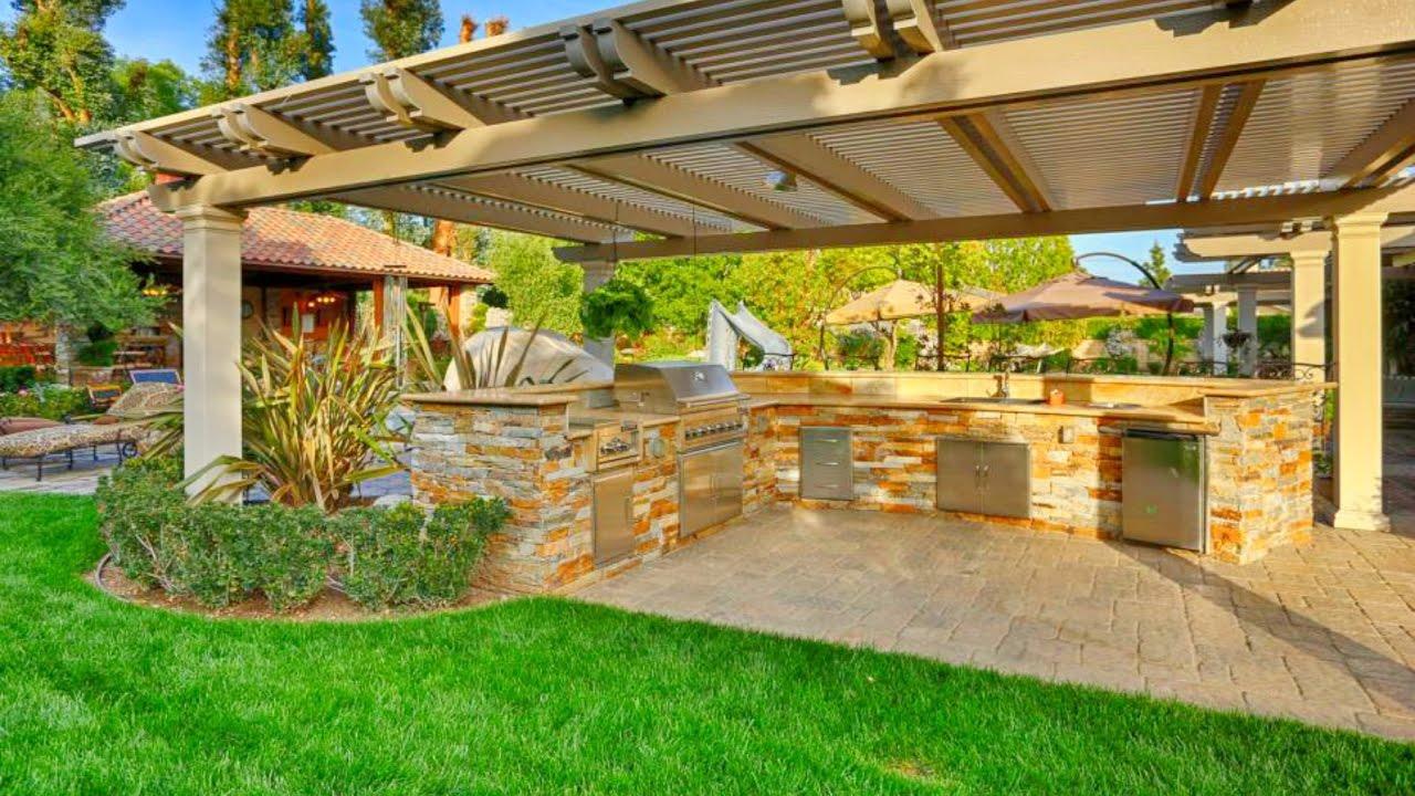 Desain Dapur Outdoor
